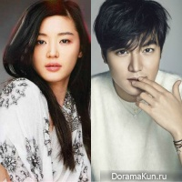 Jeon Ji Hyeon and Lee Min Ho
