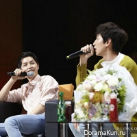 Song Joong Ki and Lee Kwang Soo