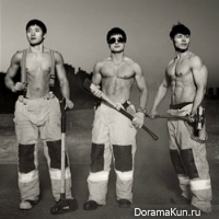 Hot korean firefighters