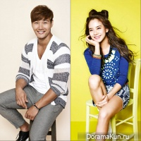 Kim Jong Kook and Song Ji Hyo