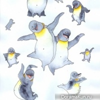 Day learning dance penguins