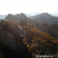Korean mountains