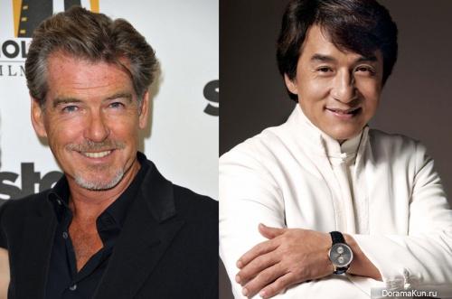 Pierce Brosnan - Jackie Chan