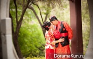 Chinese wedding photo shoot