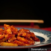 potatoes with chilli in Chinese