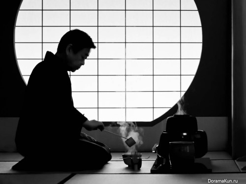 tea ceremony master