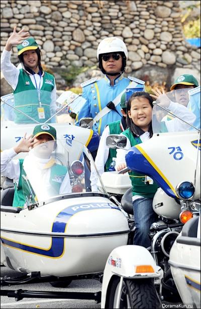 Honorary children Patrol Seoul