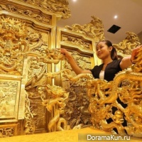 Golden Throne in Weifang