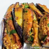 appetizer of eggplant