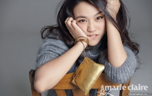 Tang Wei для Marie Claire April 2016