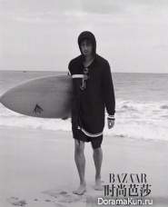 Bolin Chen для Harper's Bazaar May 2017