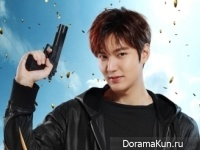 Karena Ng, Lee Min Ho Concept Photos Bounty Hunters