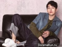 Song Joong Ki для Harper's Bazaar April 2017