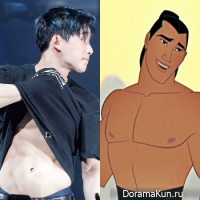 MONSTA X vs Disney