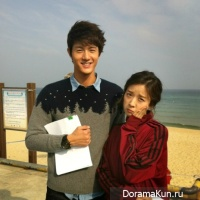 Lee Ki Woo and Lee Chung Ah