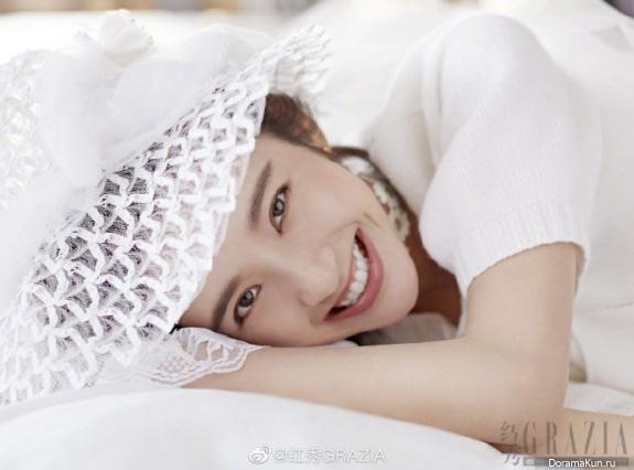 Zhang Ruo Yun, Tang Yi Xin для Grazia August 2019