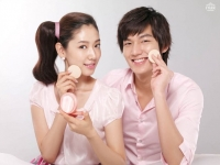 Lee Min Ho и Park Shin Hye для Etude House New
