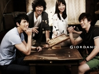 So Ji Sub, Shin Min Ah, Jung Woo Sung, Tiger JK для GIORDANO