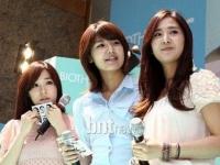 Yuri, Tiffany, Sooyoung (SNSD) для Biotherm Aquasource
