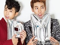 2PM (Jun.K, Chansung, Wooyoung) для The Star October 2014