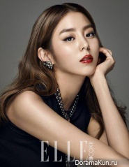 After School (Uee) для Elle 2015