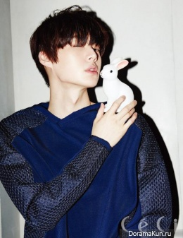 Ahn Jae Hyun для CeCi Magazine April 2014