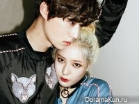 Ahn Jae Hyun, Krystal (f(x)) для First Look Magazine Vol.75