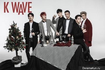 B.A.P для K WAVE December 2015