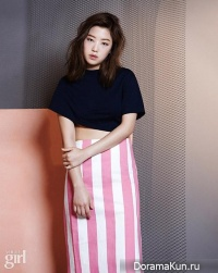 Cheetah, Kisum, Yuk Ji Dam для Vogue Girl June 2015