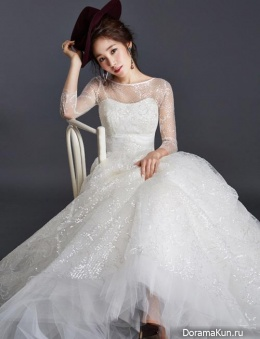Choi Hee для Wedding21 Magazine January 2015