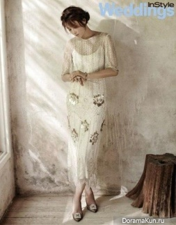 Choi Kang Hee для InStyle Weddings October 2015