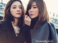 Davichi для First Look Magazine Vol.83