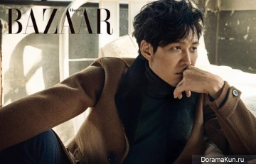 Lee Jung Jae, Esom для Harper's Bazaar October 2015