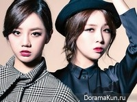 Girl's Day (Hye Ri, Min Ah) для Lady Kyunghyang November 2014