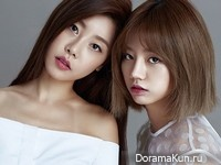 Girl's Day (Hye Ri, So Jin) для @Star1 August 2014