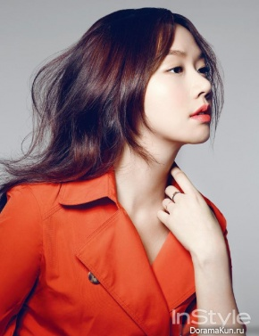Go Sung Hee для InStyle March 2015