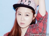 Gong Hyo Jin для Hats On S/S 2015
