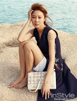 Gong Hyo Jin для InStyle Korea March 2015 Extra