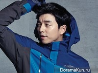 Gong Yoo для Discovery Expedition Fall 2014 CF