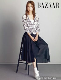 Han Ji Hye для Harper's Bazaar April 2015
