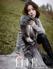 Han Ji Min для Elle Korea November 2014 Extra