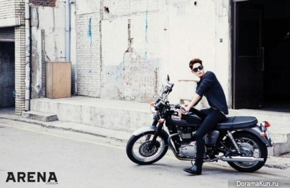 Hong Jong Hyun для Arena Homme Plus April 2015