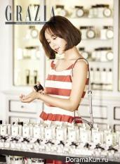 Hwang Jung Eum для Grazia June 2015