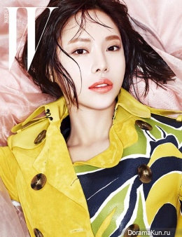 Hwang Jung Eum для W Korea March 2015