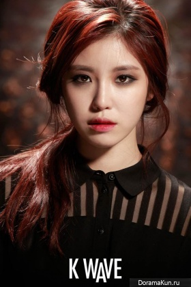 Secret (Hyosung) для K Wave Magazine October 2014