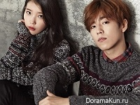 IU, Lee Hyun Woo для Unionbay Winter 2015 CF
