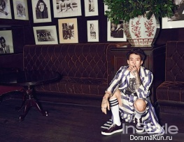 Jay Park для InStyle June 2015 Extra
