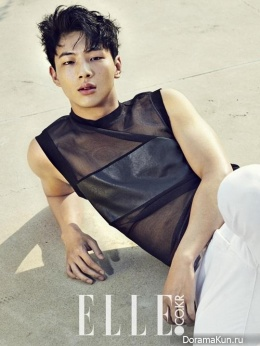 Ji Soo для Elle Korea July 2015