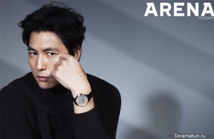 Jung Woo Sung для Arena Homme Plus December 2014