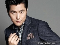 Jung Woo Sung для BRUNO BAFFI Fall 2014 CF